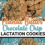 peanut butter lactation cookies