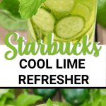 starbucks cool lime refresher recipe