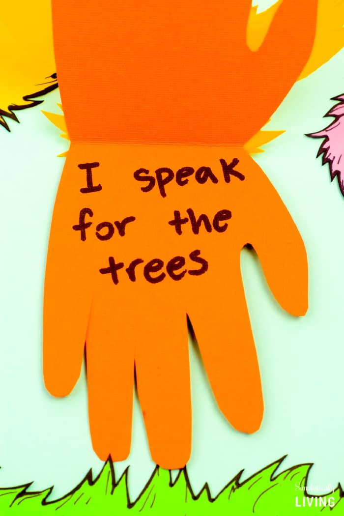 I speak for the trees quote