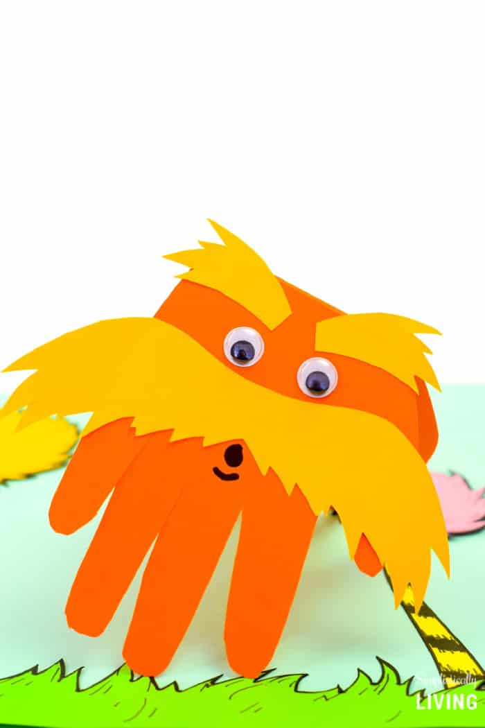 the lorax hand craft