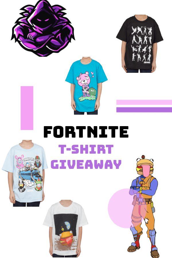 Fortnite T-Shirt Giveaway