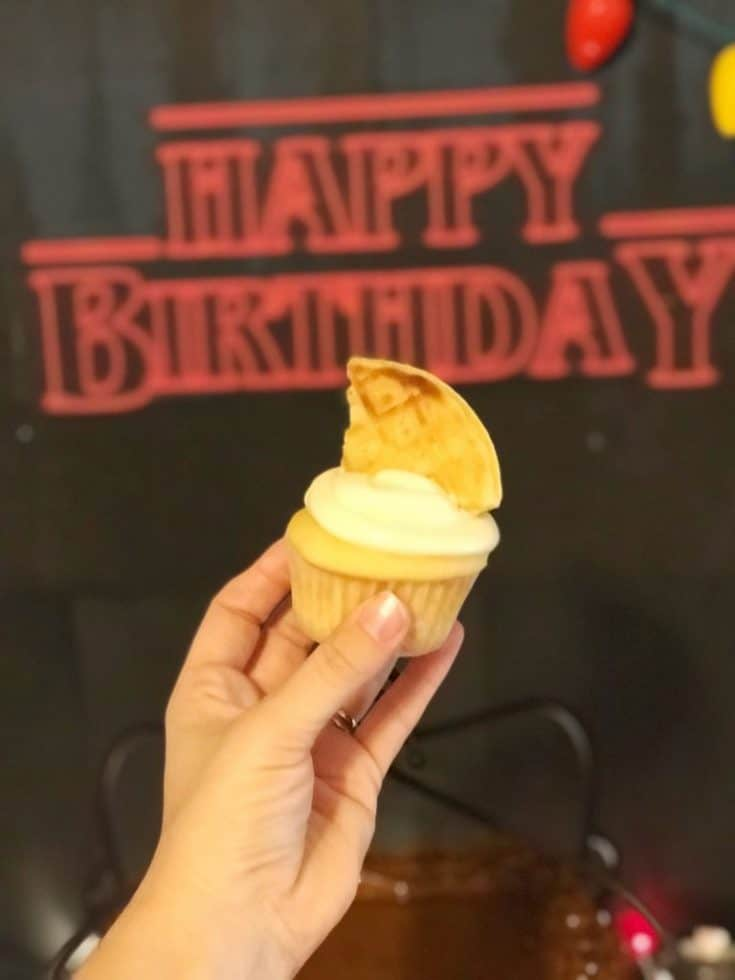 Eleven's Waffle Cupcakes