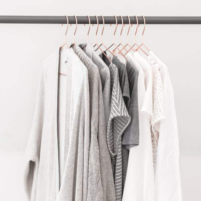 hang clothes from dryer