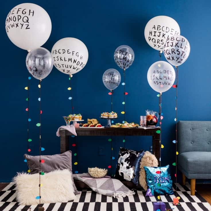 Stranger Things Message Balloons