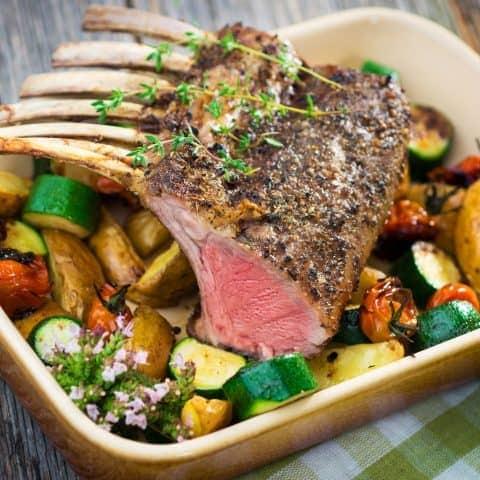 rack of lamb recipe