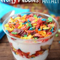 Fruity Pebbles Parfait