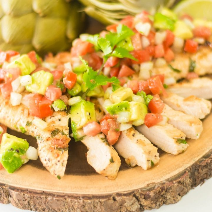 Low-Carb Cilantro Lime Chicken