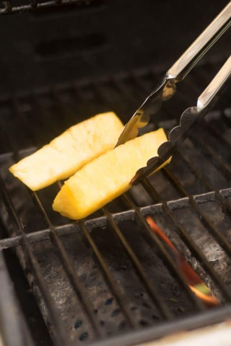 This Easy Grilled Pineapple Recipe can be made in just a few minutes using fresh pineapple, brown sugar and butter. It is the perfect recipe for grilling season!