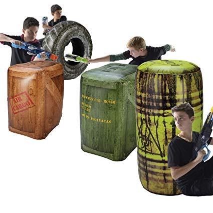 BUNKR Inflatable Battlezone Battle Royale Set