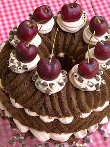 Dr. Pepper Black Forest Cake