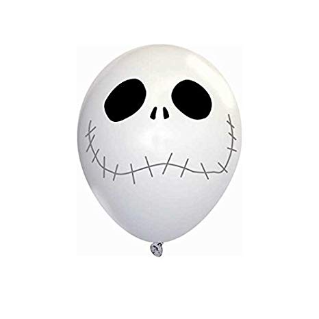 Jack Skellington Latex Balloons