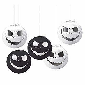 Nightmare Before Xmas Lanterns