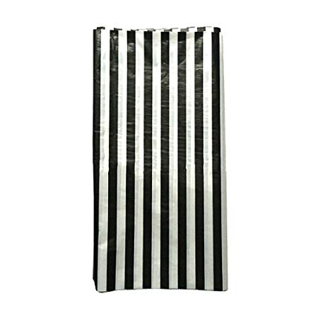Black White Stripe Print Tablecloths
