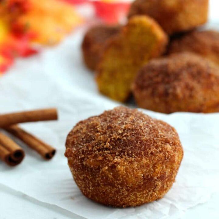 Pumpkin Spice Muffins (Gluten-Free Recipe)