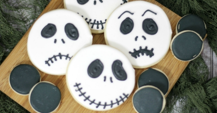 These Jack Skellington Cookies Are So Easy to Make