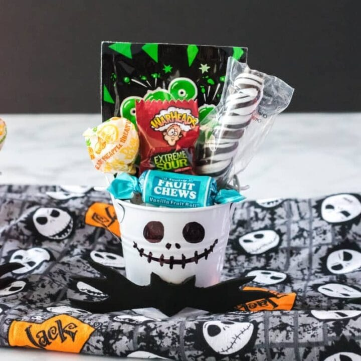 Jack Skellington Treat Cups