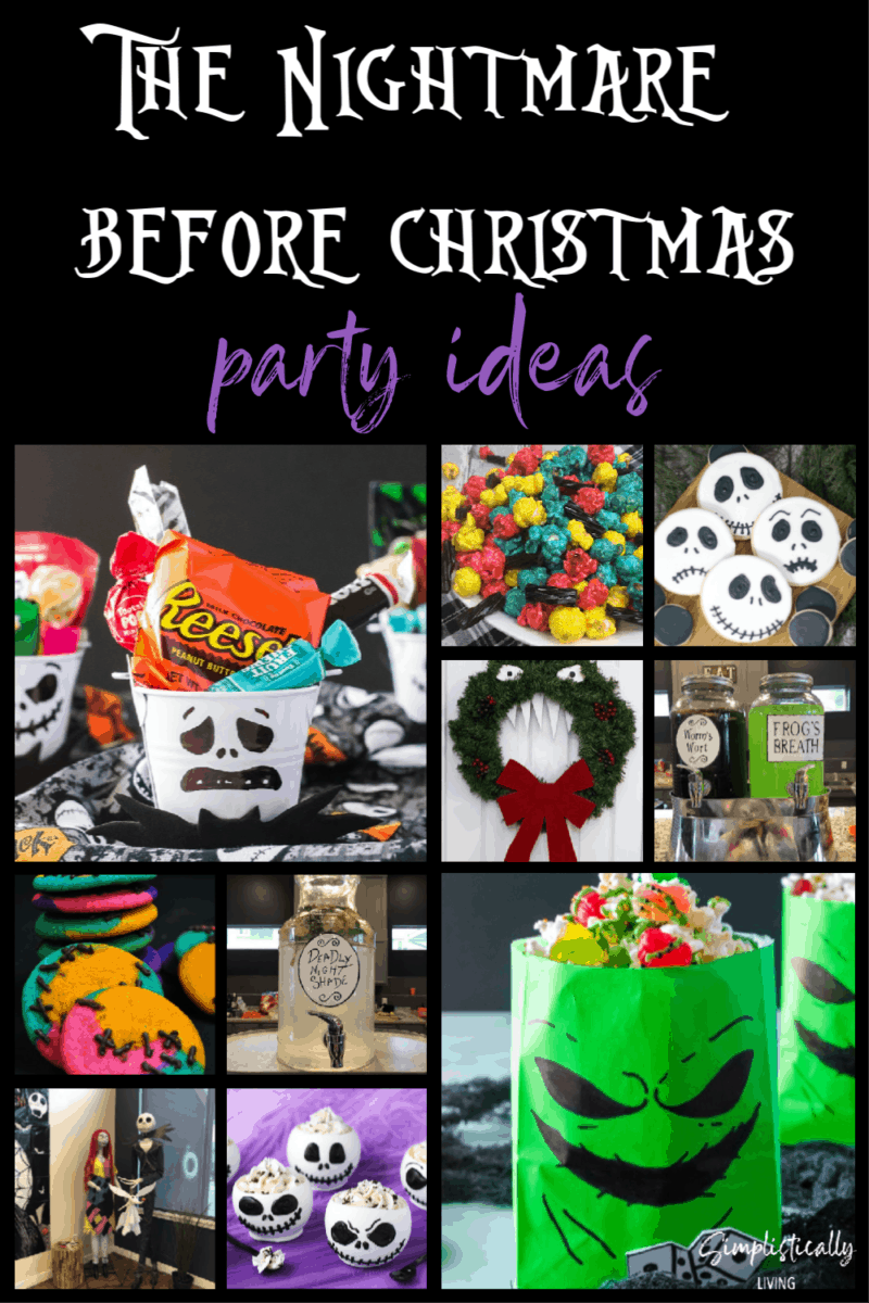 The Nightmare Before Christmas Party Ideas Simplistically Living