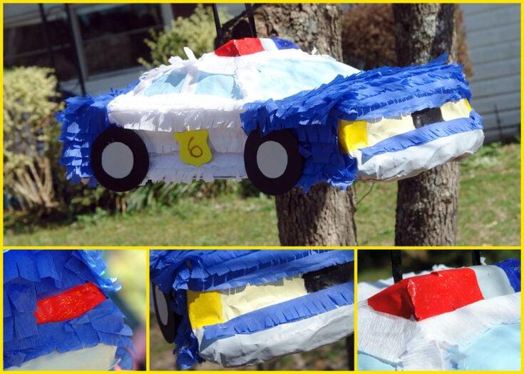 Police Car Piñata