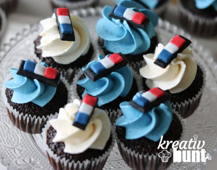 Police Cupcakes