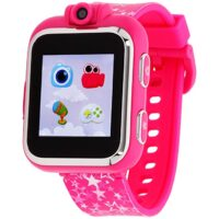 iTouch Playzoom Kids Smart Watch Fuschia Printed Band