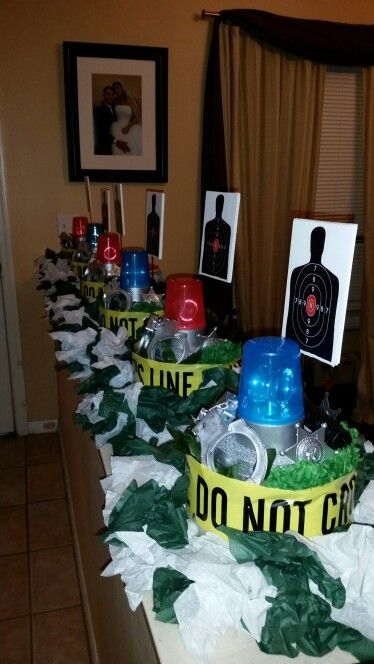 Police Centerpieces