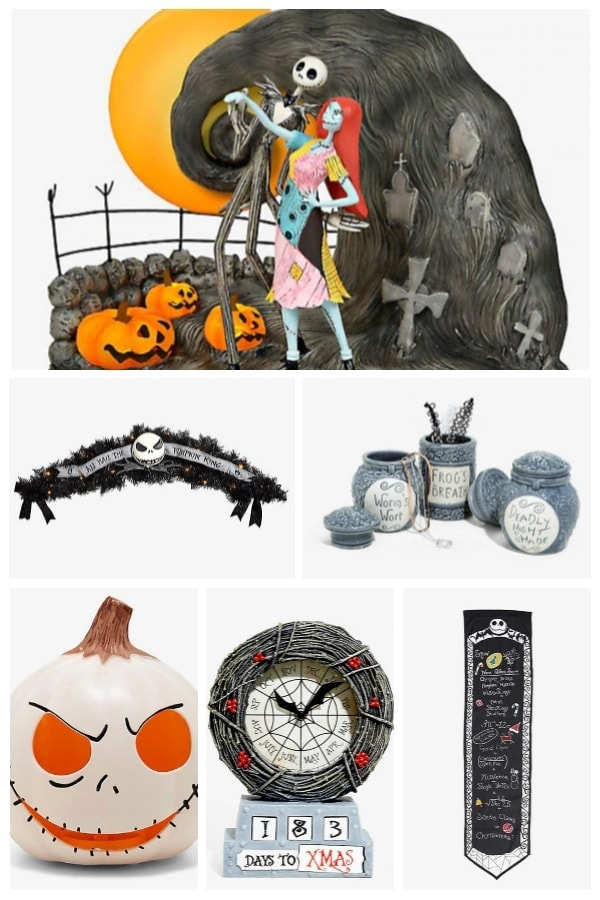 Best Nightmare Before Christmas Decorations