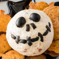 Jack Skellington Cheese Ball