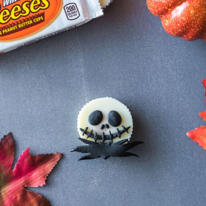 Jack Skellington Reese's Peanut Butter Cups