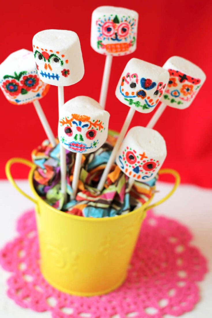 Day of The Dead Marshmallows