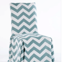 Chevron Dining Room Chair Covers