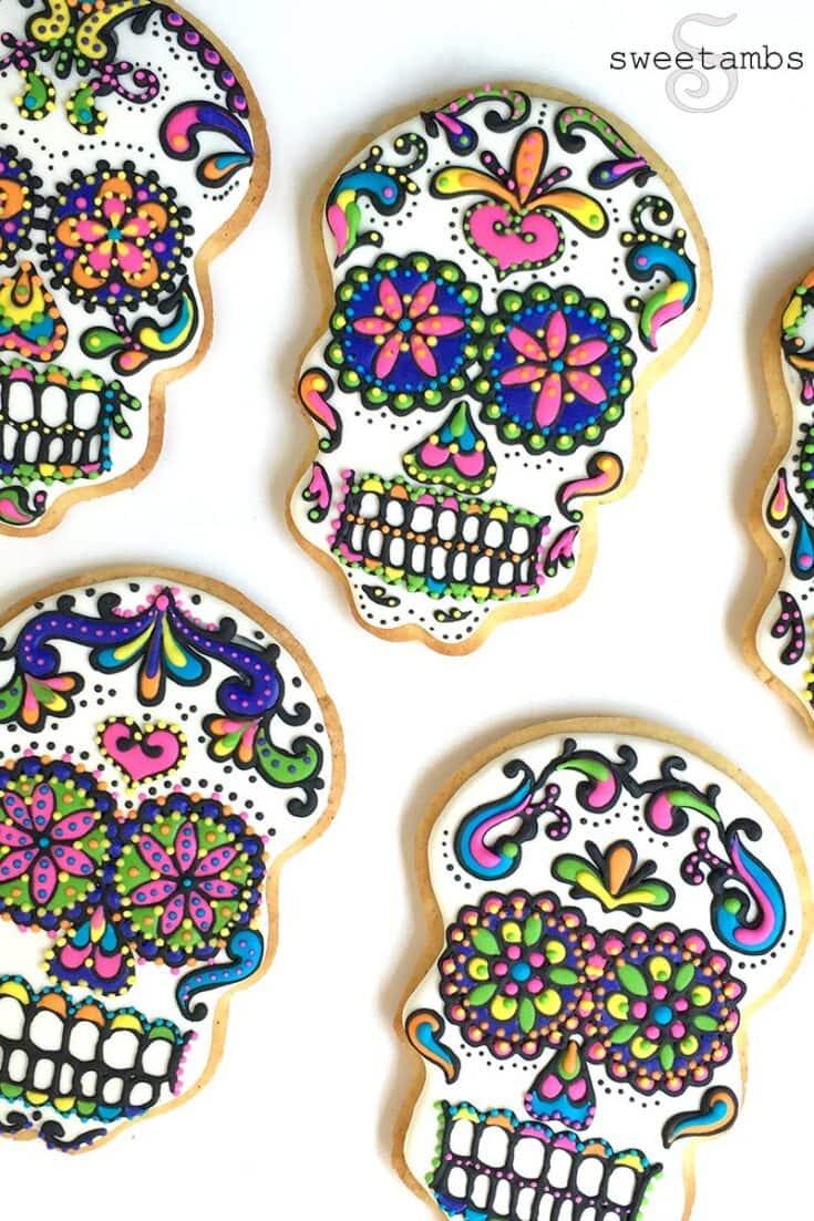 Sugar Skull Cookies!