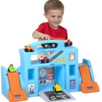 Simplay3 Carry & Go Durable Garage Portable Playset