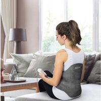 Sunbeam Heating Pad Back Wrap with Adjustable Strap