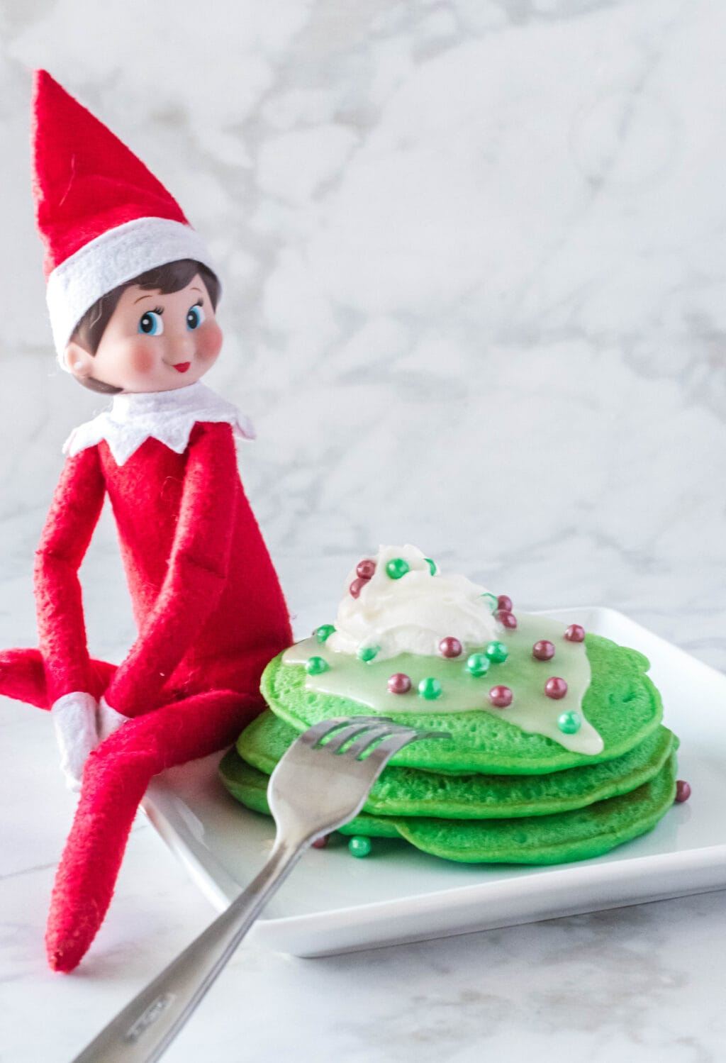 Copycat Elf on The Shelf IHOP Pancakes
