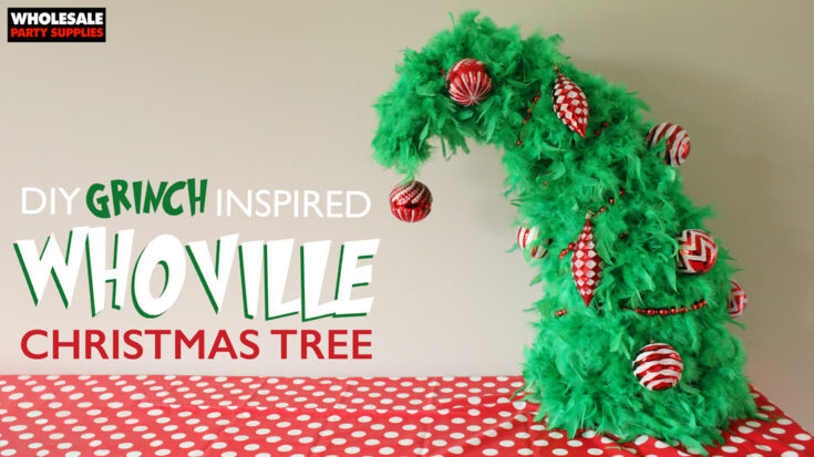 DIY Whoville Christmas Tree