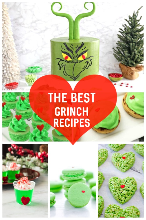 a roundup of the best grinch themed food ideas