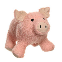 MuttNation Fueled by Miranda Lambert Squeaking Pig Dog Toy