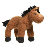 MuttNation Fueled by Miranda Lambert Lambswool Horse Squeaking Dog Toy
