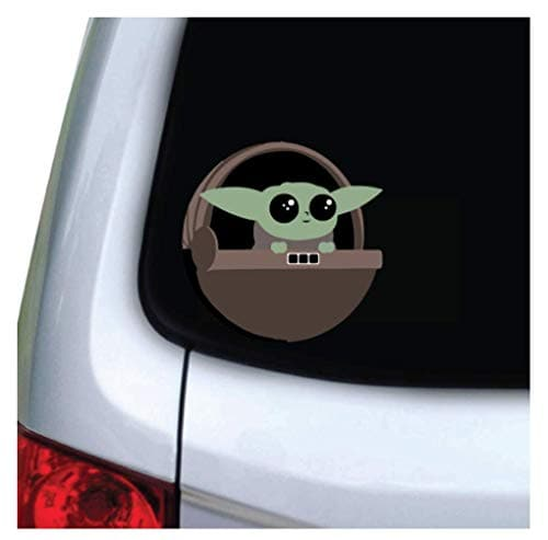 Baby Yoda Vinyl Decal Sticker for Car