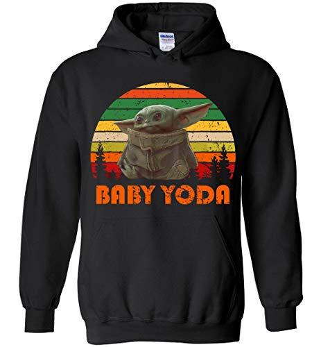 Vintage Baby Yoda Hoodie