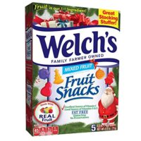 Welch's Holiday Fruit Snacks