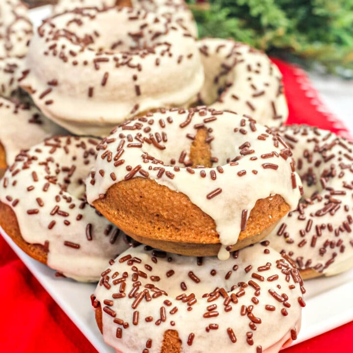 Easy Maple Donuts