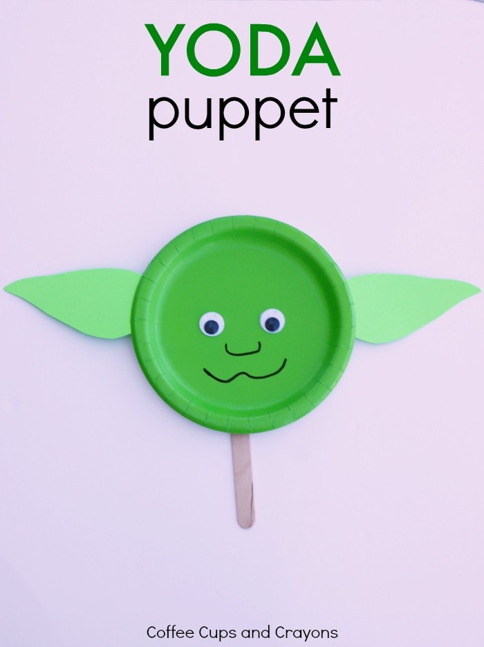 Yoda Puppet Star Wars Craft