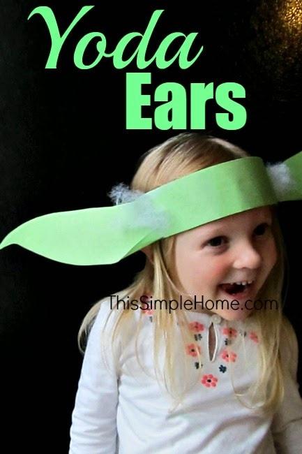 Yoda Ears Headband Craft and Tutorial