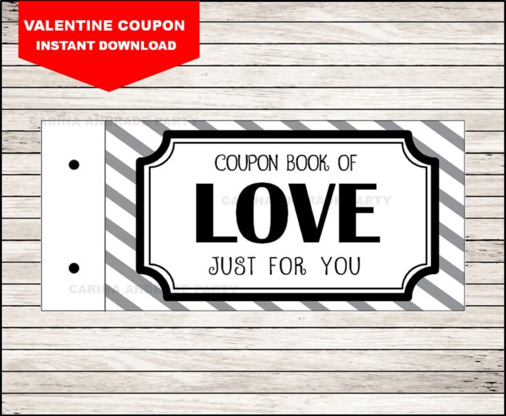 Coupon Book of Love