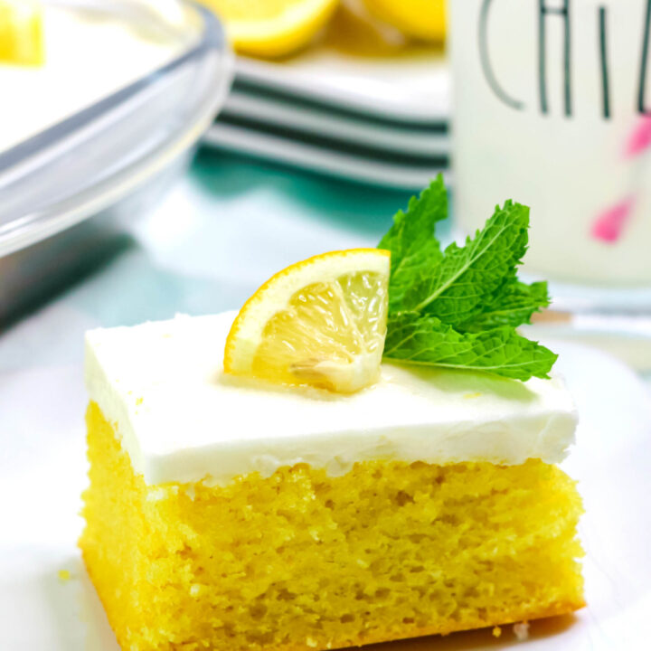 Lemon Depression Cake