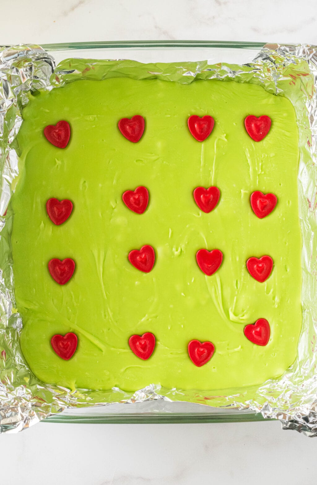grinch fudge step 6