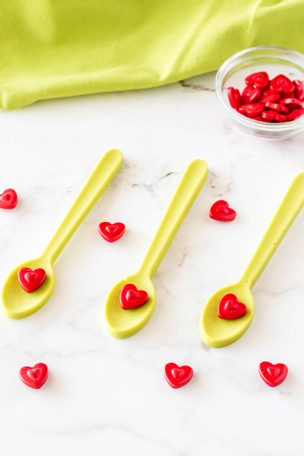 grinch hot chocolate spoons
