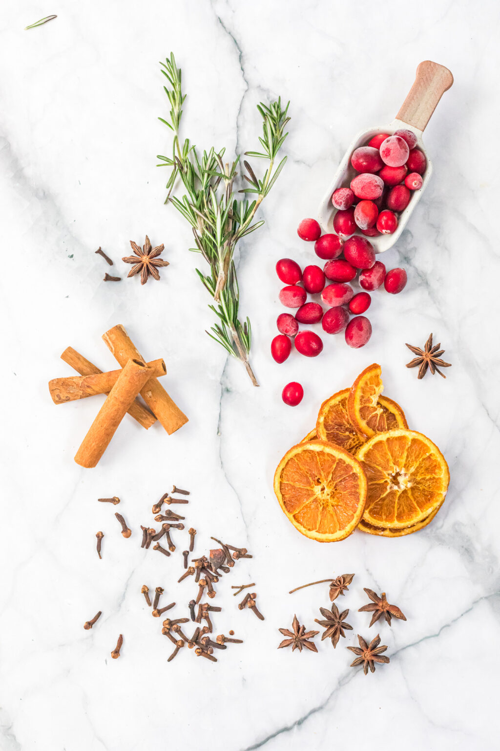 homemade holiday potpourri ingredients