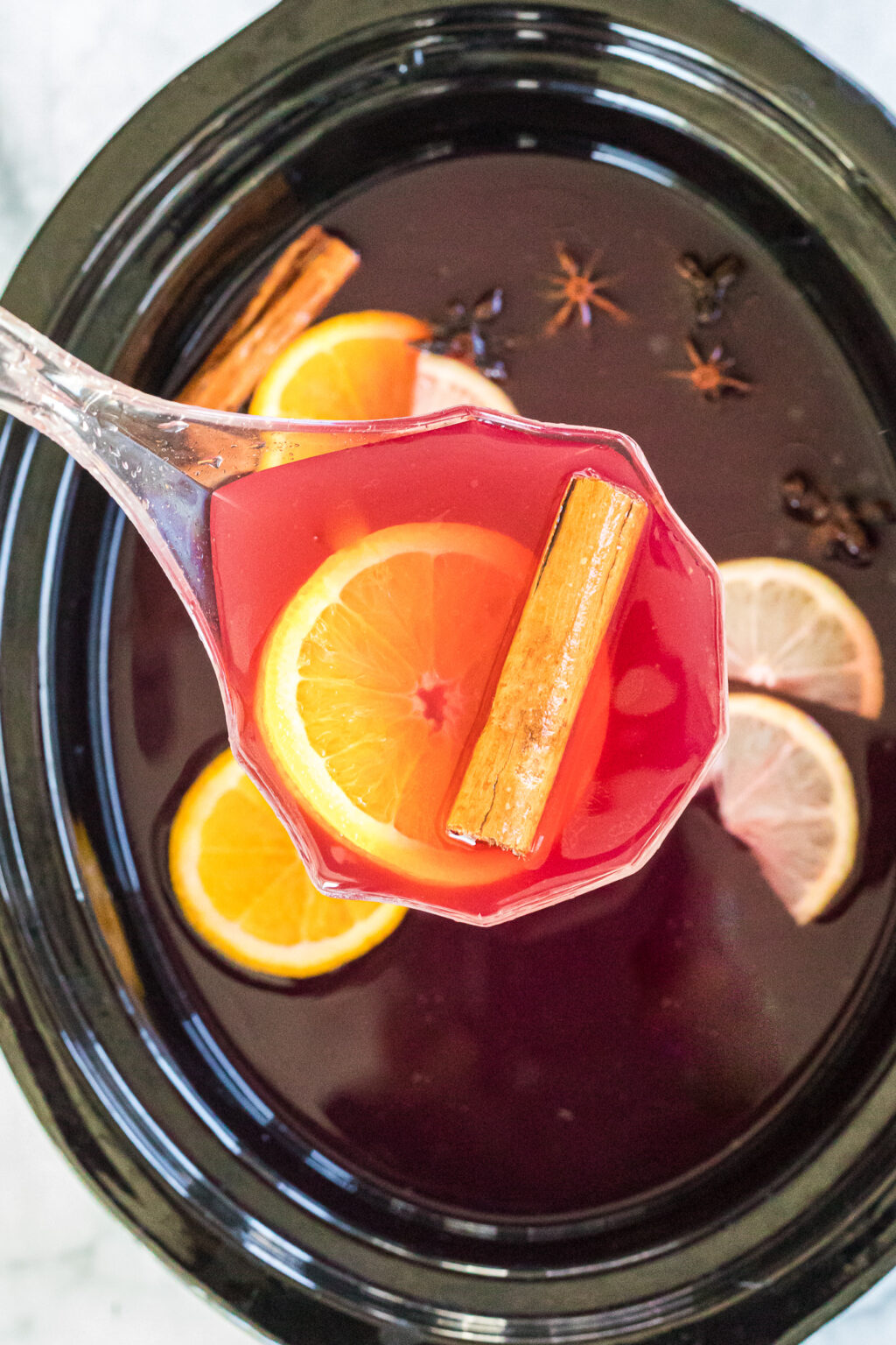 wassail in the slow cooker